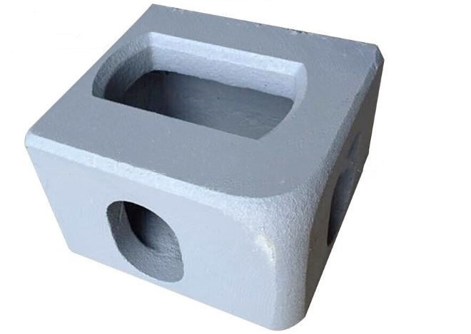 Steel block shipping container ISO 1161 corner block casting